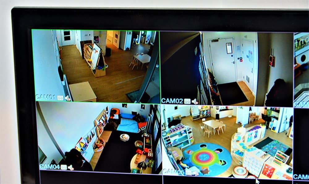 security cctv cameras at a Preschool & Daycare Serving Colindale, Edgware & St Albans UK